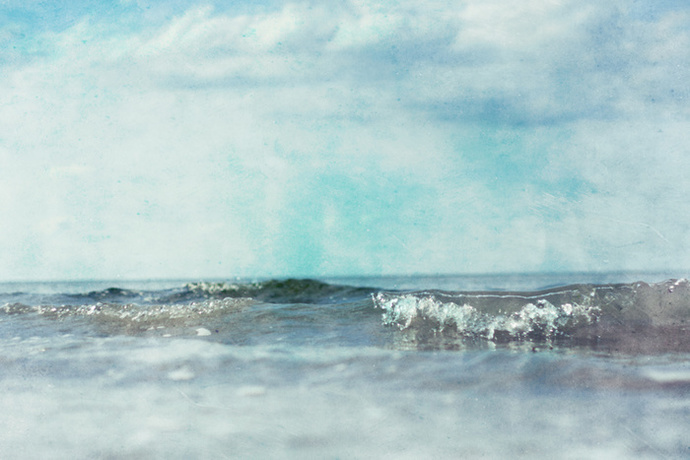 ocean photo print, wall art decor, ocean, sea, waves, summer, beach, photo