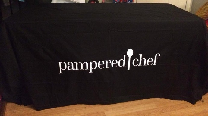 Pampered Chef Tablecloth