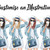 Customize an illustration, Fashion illustration clipart, printable art, instant