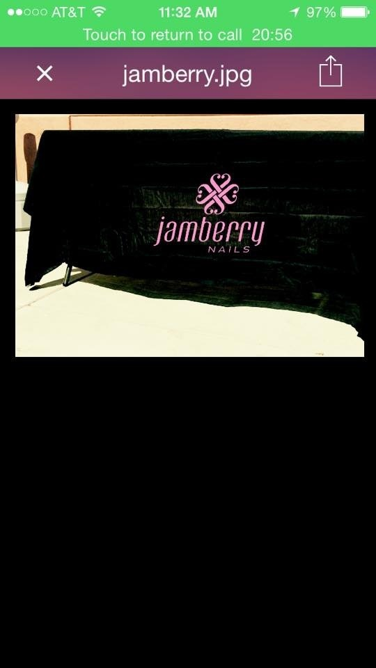 Jamberry tablecloth
