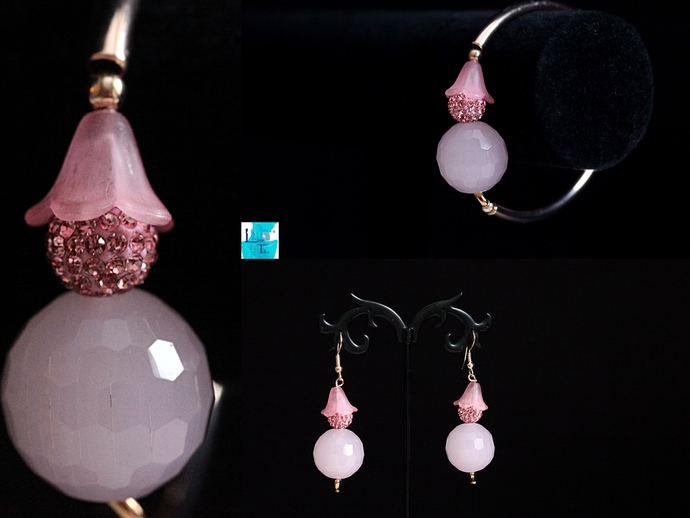 BubbleGum Pink Earrings
