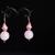 BubbleGum Pink Bracelet and Earring Set