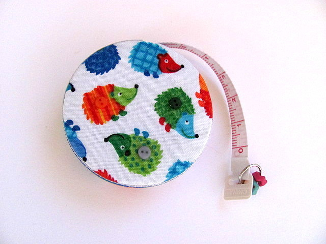 Tape Measure Rainbow Hedgehogs  Retractable Measuring Tape