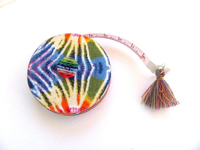 Retractable Tape Measure Groovy Tie Dye Measuring Tape