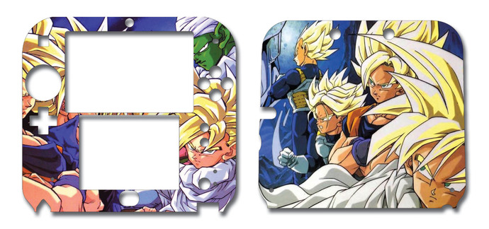 Dragonball Nintendo 2DS Vinyl Skin Decal Sticker