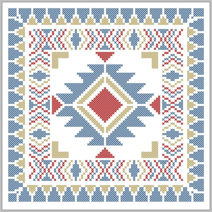 navajo border designs. Navajo Style Simple Border Design Tribal Boho Modern Native American Designs N