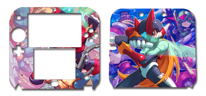 Megaman Zero Nintendo 2DS Vinyl Skin Decal Sticker