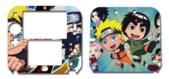 Naruto Powerful Shippuden Nintendo 2DS Vinyl Skin Decal Sticker