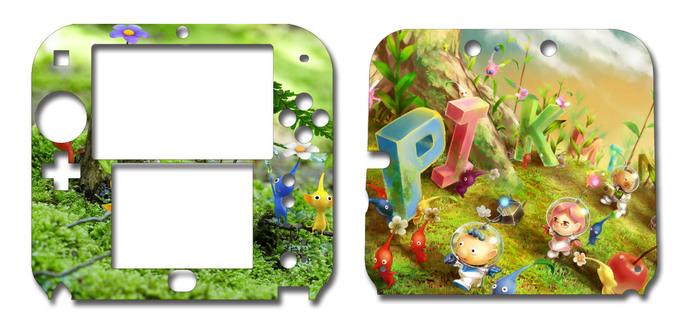 Pikmin Nintendo 2DS Vinyl Skin Decal Sticker