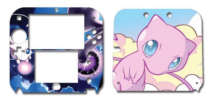 POKEMON  Mew Nintendo 2DS Vinyl Skin Decal Sticker