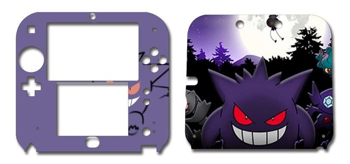 Pokemon Gengar Nintendo 2DS Vinyl Skin Decal Sticker