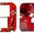 SONIC THE HEDGEHOG Knuckles Nintendo 2DS Vinyl Skin Decal Sticker