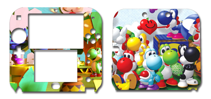 Yoshi Nintendo 2DS Vinyl Skin Decal Sticker