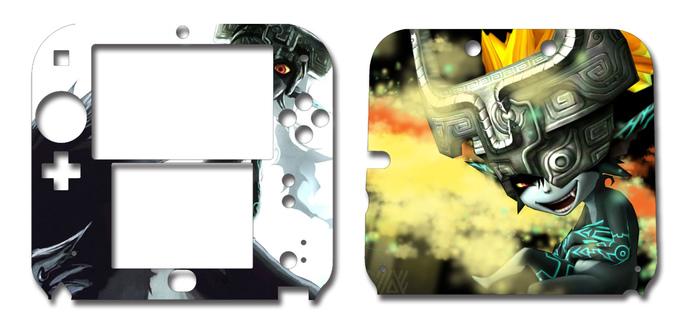 Zelda Midna Nintendo 2DS Vinyl Skin Decal Sticker