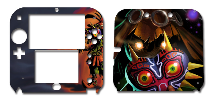 Skull Kid Majora's Mask Nintendo 2DS Vinyl Skin Decal Sticker