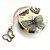 Measuring Tape with Butterflies Retractable Tape Measure