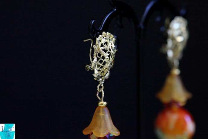 Golden Man Earrings