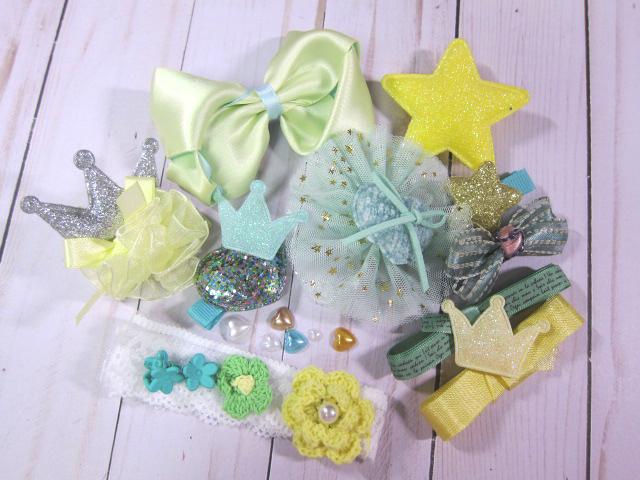 Cutie Embellishment Sets - #1, 2, 3, 4, 5, 6, 7 style