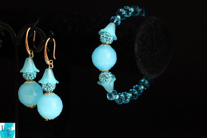 BubbleGum Blue  Bracelet