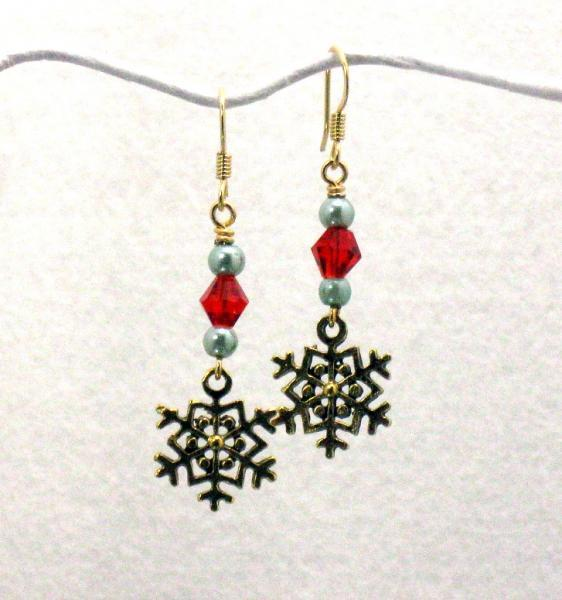Cranberry Burst Earrings