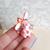 Pink bunny Minitiny. One if a kind