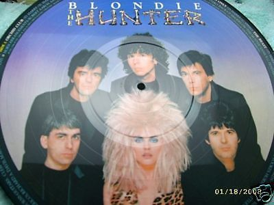"Blondie The Hunter Picture Disc 12"" Chrysalis"