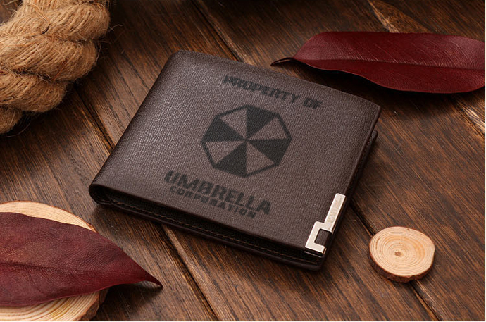 Resident Evil Umbrella Corporation version 2 Leather Wallet