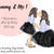 Watercolour fashion illustration clipart - Mommy & Me 1