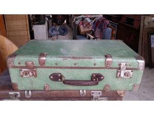 antique suitcase old suitcase vintage by treasuresvintage on zibbet