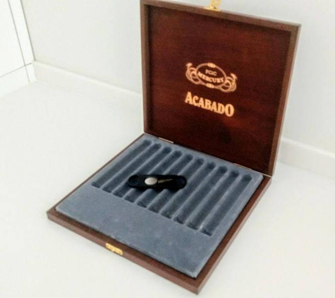humidor cigarette case box antique cigar wood decor groomsmen gifts humidor