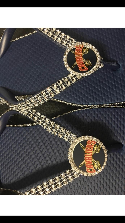 Cleveland Cavalier Flip flops