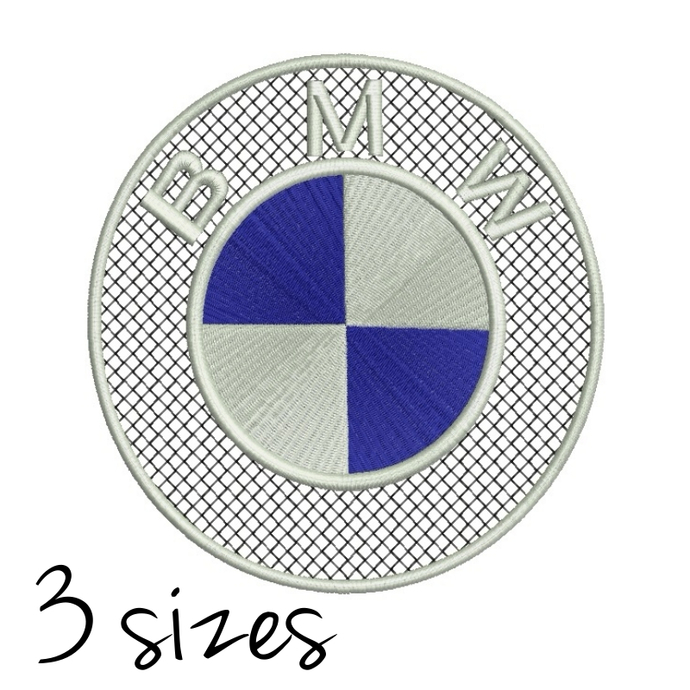 Bmw Embroidery Machine Designs Logo Pes By Gretaembroidery On Zibbet