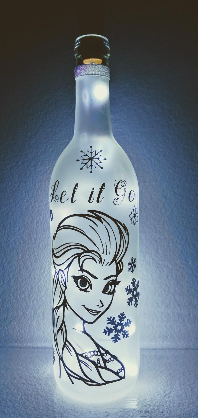 Elsa light bottle.