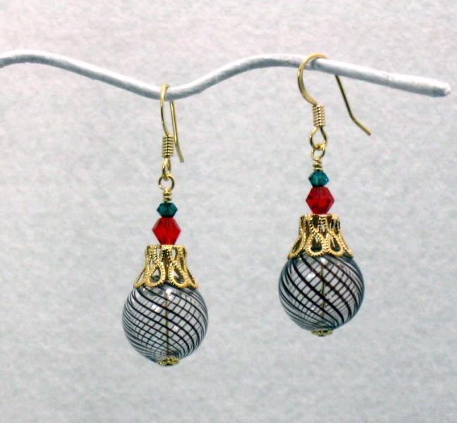 Yule Logs Earrings