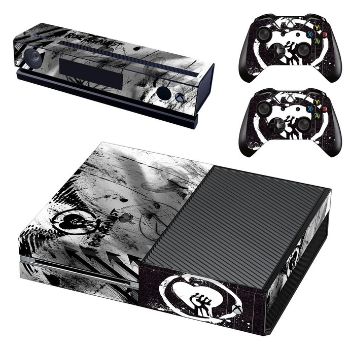 Chinese Revolution  decal skin for xbox one console and 2 controllers
