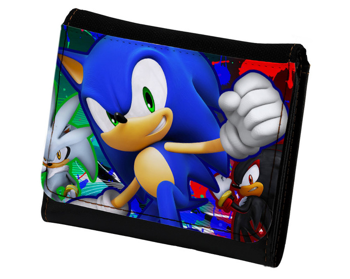 SONIC THE HEDGEHOG PU Leather Wallet