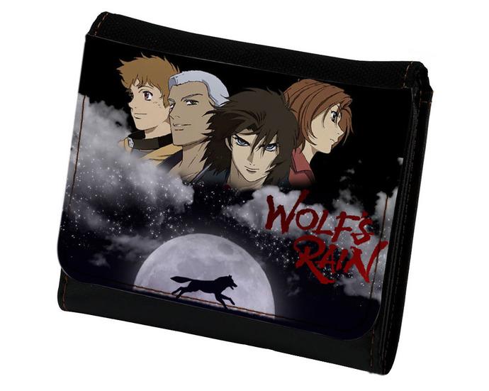 Wolf's Rain PU Leather Wallet