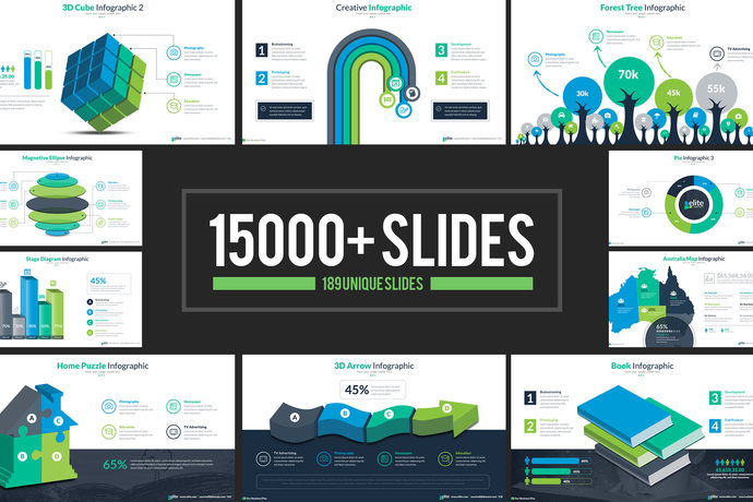 Business infographic presentation powerpoint by contestdesign on business infographic presentation powerpoint template 189 multipurpose slides toneelgroepblik Images