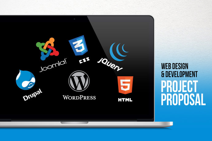 web design and development project proposal by contestdesign on
