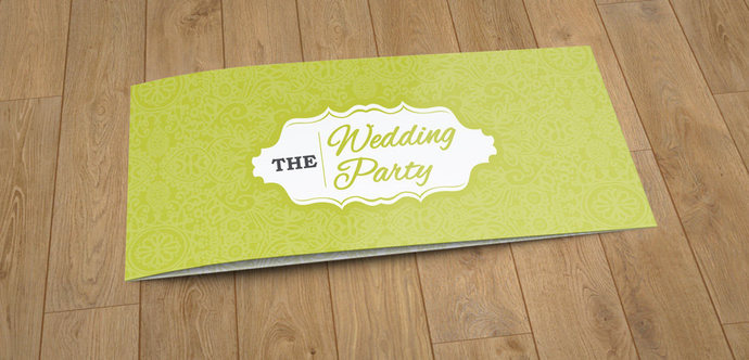 Floral Wedding Invitation Card Template, Wedding Invite, Gold Foil Invite,