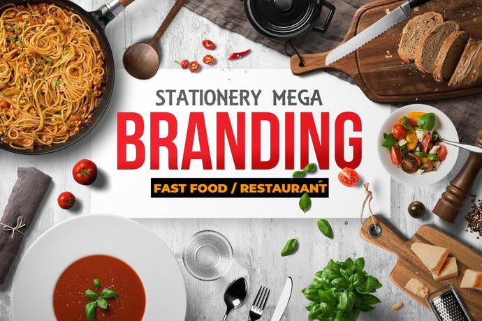Stationery mega branding identity design for by contestdesign on stationery mega branding identity design for fast food agency or company bundle forumfinder Choice Image