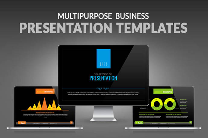 Powerpoint presentation template 4x6 and by contestdesign on zibbet powerpoint presentation template 4x6 and 16x9 ratio best animated and business toneelgroepblik Gallery