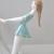 Vintage ,Hungarian Hollohaza porcelain girl figurine,playing