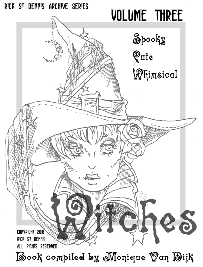 Witches Archives  vol. 3, pdf download coloring book