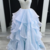 Charming Prom Dress,Organza Prom Gown,Beading Prom Dress,Spaghetti Straps Prom