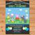 Peppa Pig Invitation Chalkboard Garland Blue * Peppa Pig Invite * Boy Peppa Pig