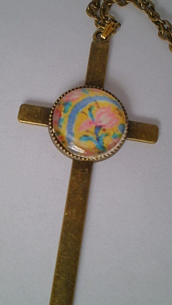 Floral Cross - Perfect for Easter