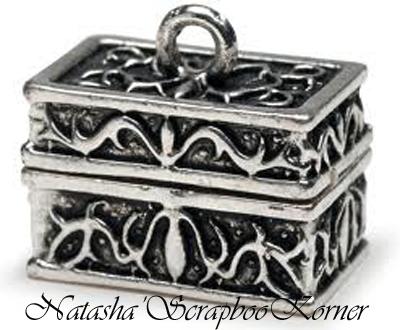 Chest Pendant Charm Prayer Box Secret Keeper Jewelry