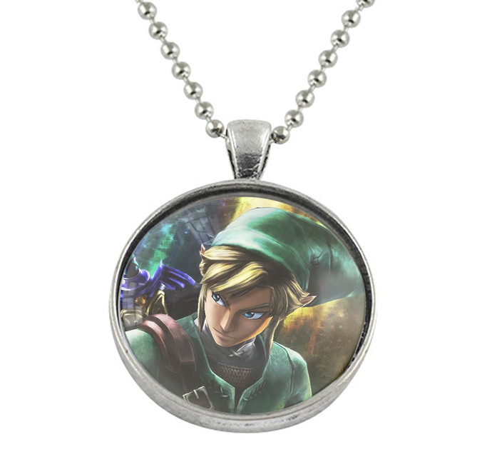 Zelda pendant necklace by goku on zibbet zelda pendant necklace aloadofball Choice Image