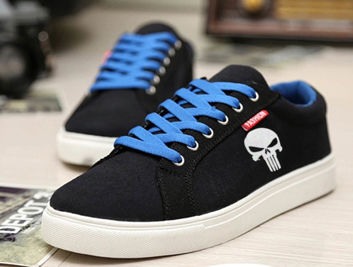 The Punisher Sneakers Sport Casual Shoes